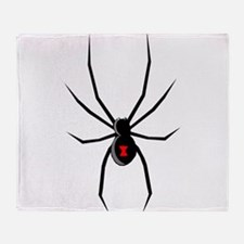 Funny Spider Throw Blanket