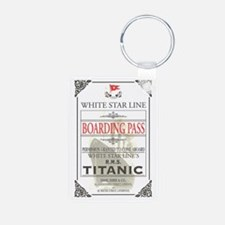 Titanic Aluminum Photo Keychain