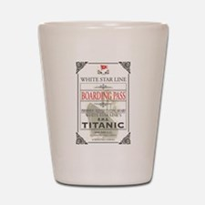 Unique Titanic Shot Glass