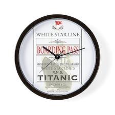 Cute Titanic Wall Clock