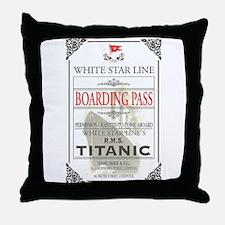 Cute Titanic Throw Pillow