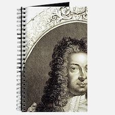 George I. 1714-1727. Engraving. Journal