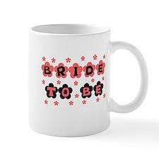 Coral Bride to Be Mug