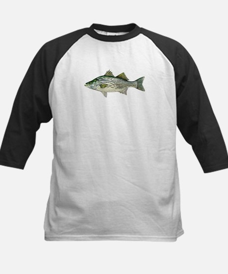 Striped Bass Baseball Jersey
