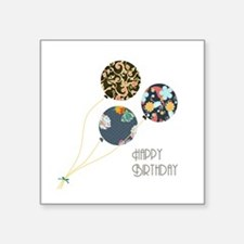 Happy Birthday Balloons Sticker