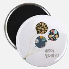 Happy Birthday Balloons Magnets