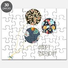 Happy Birthday Balloons Puzzle