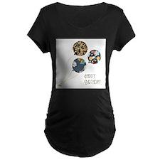 Happy Birthday Balloons Maternity T-Shirt