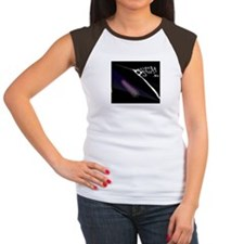 PreciousStuffDotBiz Design Women's Cap Sleeve T-Sh