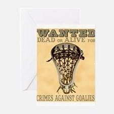 Lacrosse Wanted II Greeting Cards (Pk of 10)