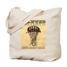 Lacrosse Wanted II Tote Bag