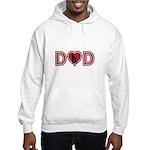Dad Heart Hooded Sweatshirt