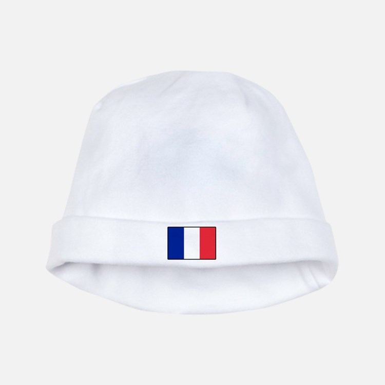 French Flag Baby Hat
