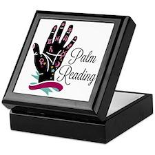 Palm Reading Keepsake Box