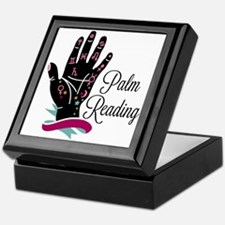 Palm Reading Keepsake Box