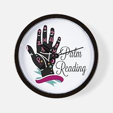 Palm Reading Wall Clock
