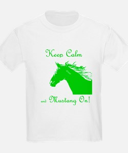 Mustang On T-Shirt