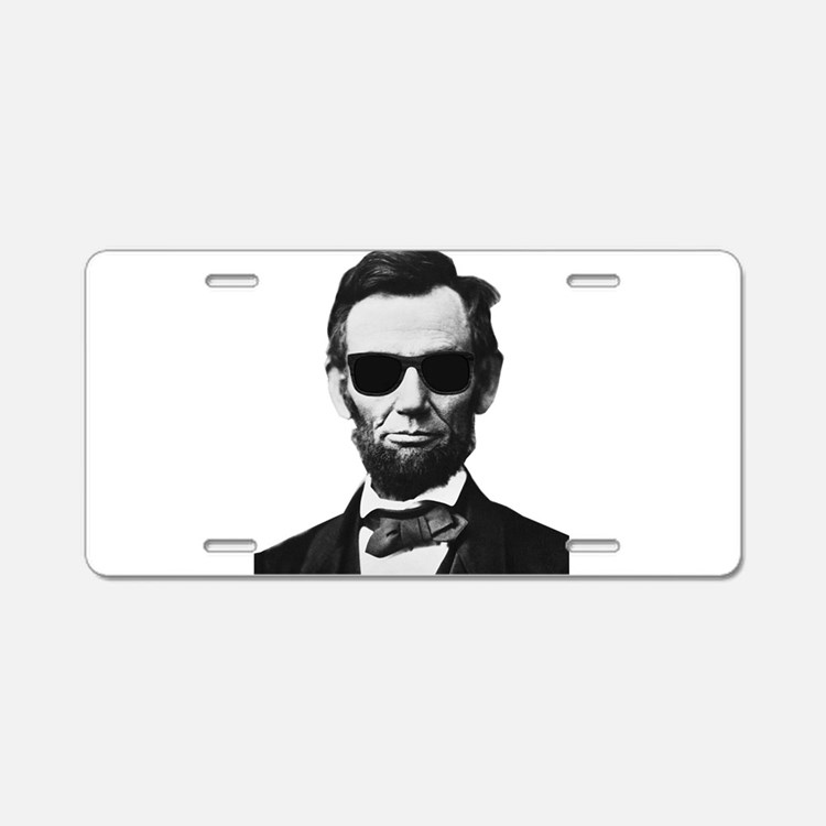 COOL LINCOLN Aluminum License Plate