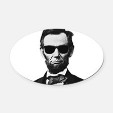 COOL LINCOLN Oval Car Magnet