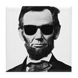 Abraham lincoln Tile Coasters