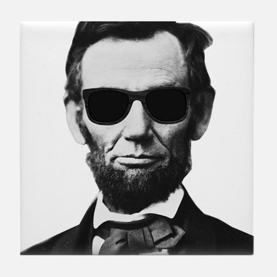 COOL LINCOLN Tile Coaster