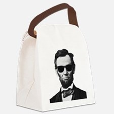 COOL LINCOLN Canvas Lunch Bag