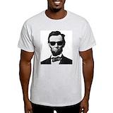 Abraham lincoln Mens Classic Light T-Shirts