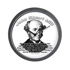 John Stuart Mill 03 Wall Clock