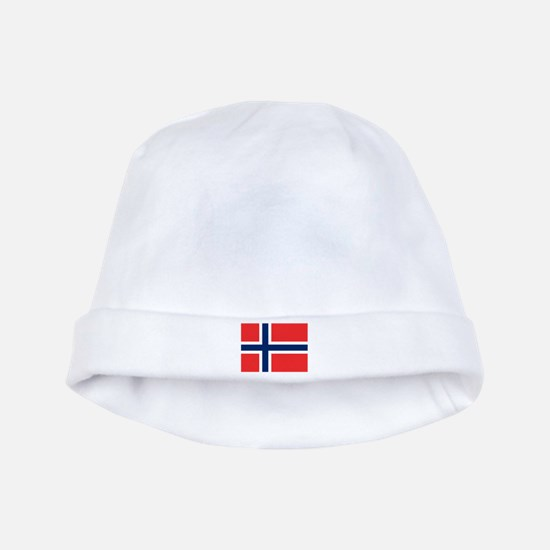 Norwegian Flag Baby Hat