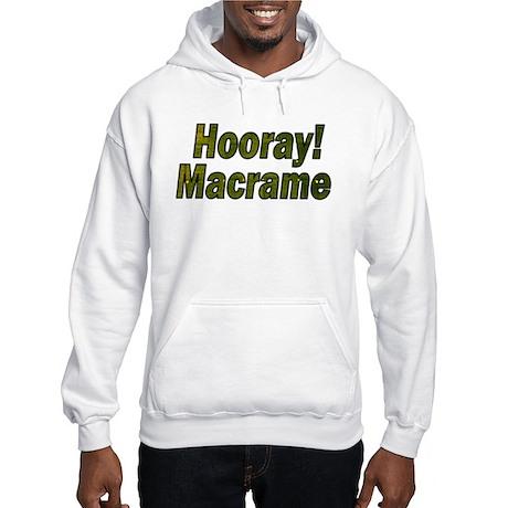 Macrame Wear Hooded Sweatshirt