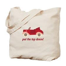 Put The Top Down! Tote Bag