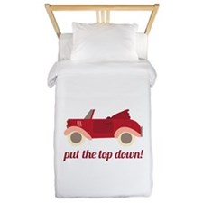 Put The Top Down! Twin Duvet