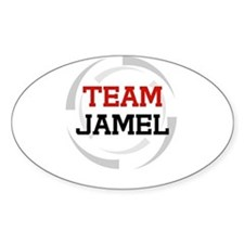 Jamel Oval Decal
