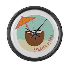 Bahama Mama Large Wall Clock