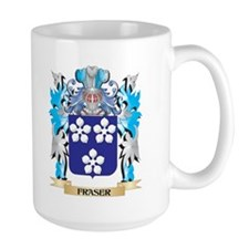 Fraser Coat of Arms - Family Crest Mugs