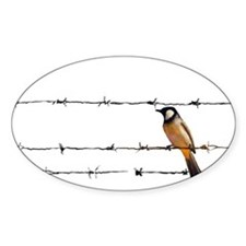 Bird on a Wire Decal