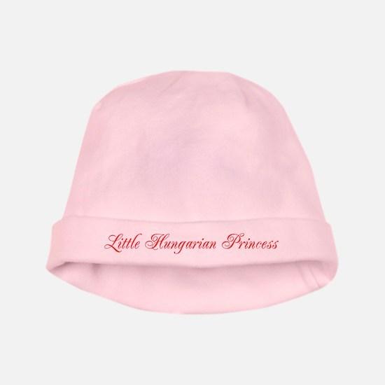 Hungarian Princess Baby Hat