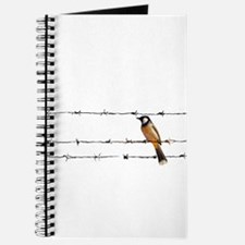 Cute Feather Journal