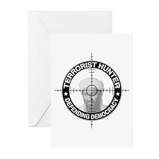Terrorist Hunter Greeting Cards (Pk of 10)