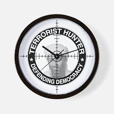 Terrorist Hunter Wall Clock