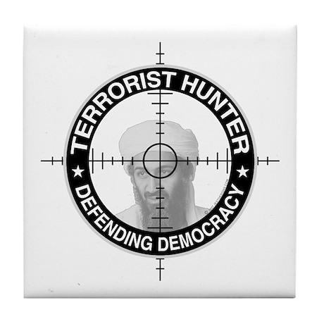 Terrorist Hunter Tile Coaster