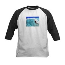 Surfer and Wave Baseball Jersey