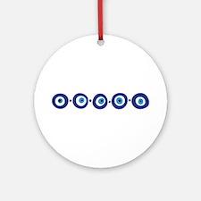 Eye Border Ornament (Round)