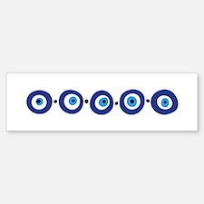 Eye Border Bumper Bumper Stickers