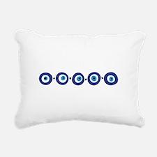 Eye Border Rectangular Canvas Pillow
