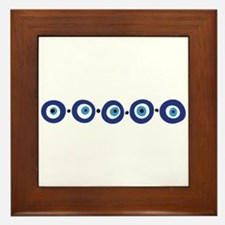 Eye Border Framed Tile
