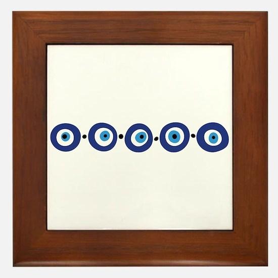 Eye Border Framed Tile