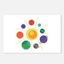 Solar System Postcards (Package of 8)