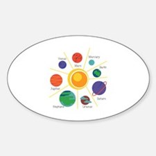 Planet Names Decal