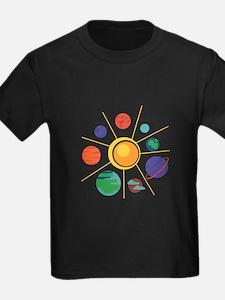 Planet Names T-Shirt